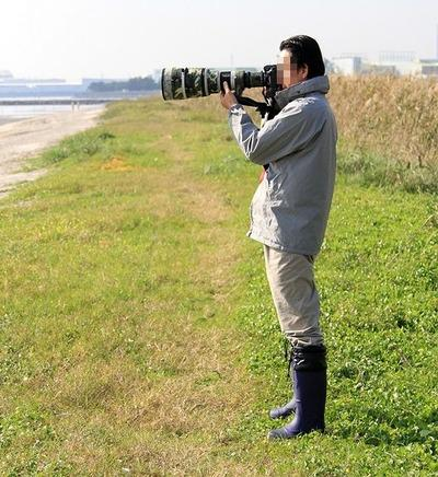 望遠レンズカメラ