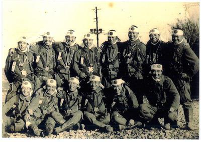 陸軍特攻 誠 第百十九飛行隊の出撃一時間半前の写真