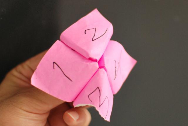 折り紙パクパク